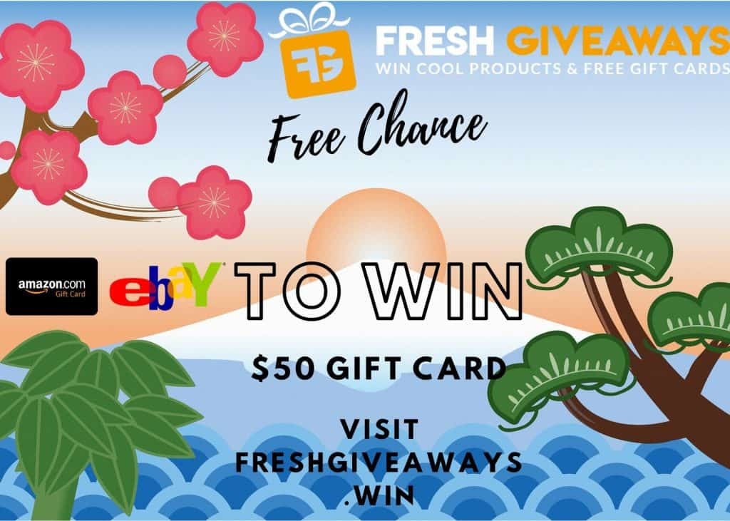Free Gift Cards Giveaway